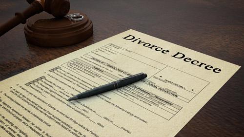 Divorce Decree Document